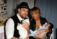 Joel Madden, Nicole Richie und ihre Kids