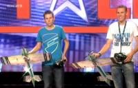 Daniel und Florian Golla bei das Supertalent