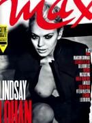 Lindsay Lohan oben ohne in Max