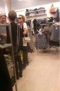 Lindsay shoppte legal bei Forever 21.