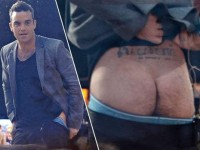 Robbie Williams´Arsch