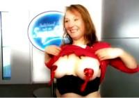 Hendrikje Padula zeigt ihre Titten bei DSDS