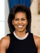 Die First Lady Michelle Obama