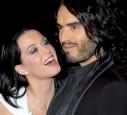 Katy und Russell Brand
