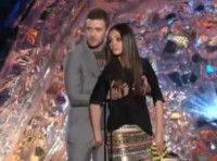 justin Timberlake und Mila Kunis MTV Movie Awards
