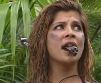 Indira Weis im Dschungelcamp