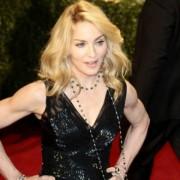 Madonna auf dem roten Teppich