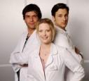 Florian David Fitz und seine Kollegen von Doctors diary
