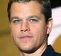 Matt Damon mit langen Haaren
