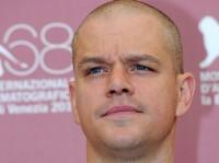 Matt Damon mit neuer Frisur