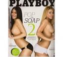 Nadine Arents auf dem Playboy Cover