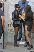 Kim Kardashian mit kurzen Haaren