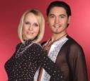 Kristina Bach und Erich Klann tanzten, bis sie einen Bandscheibenvorfall hatte