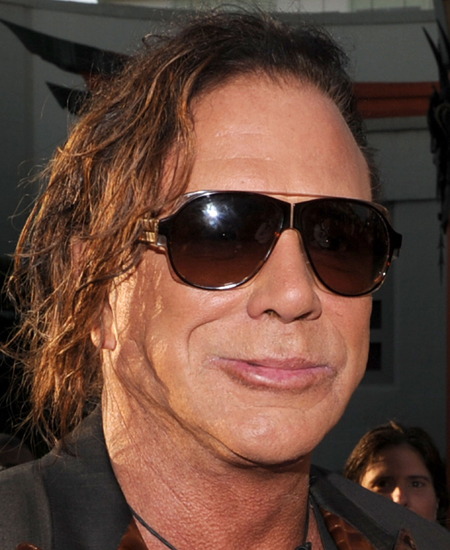 Mickey Rourke - Wallpaper Actress