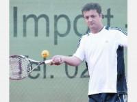 Tennisspieler Hendrik Dreeman