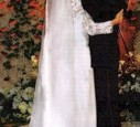 Ein Hochzeitsfoto von Denise und Charlie