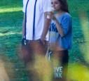 Mila und Ashton Kutcher privat