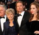 Jane, William und Brad Pitt + Angelina Jolie