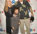 James Gandolfini mit Frau und Kind