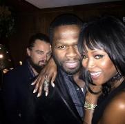 Leonardo, 50 Cent und Rihanna